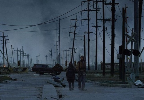 apocalypse, movie, and the road image