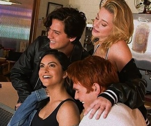 girls, cole sprouse, and riverdale image