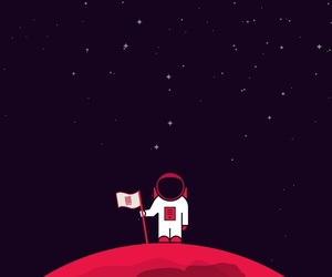 astronaut, wallpaper, and backgrounds image