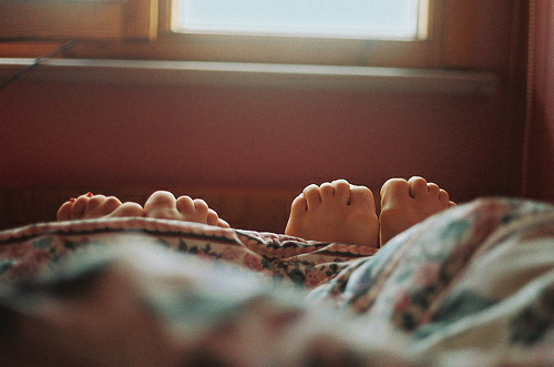 love, feet, and couple image