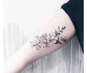 body art, tattoo, and luiza.blackbird image