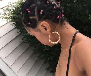 bun and hair image