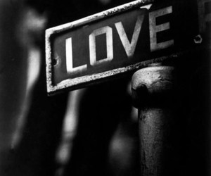 love, black and white, and black image