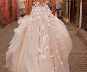 beautiful, dress, and elegance image