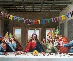 jesus, birthday, and christmas image