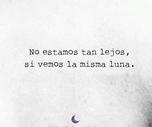 amor, luna, and sad image