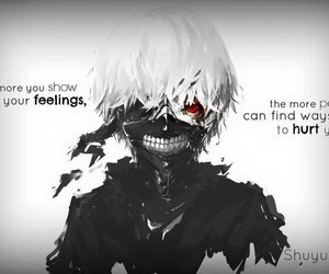 anime, tokyo ghoul, and quotes image