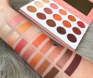 beauty, cosmetics, and swatches image