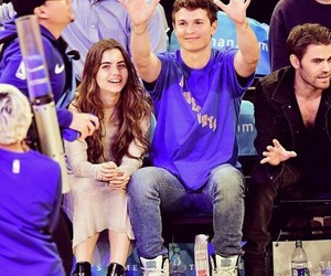 violetta and ansel elgort image