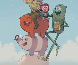 we bare bears, bear, and cartoon network image