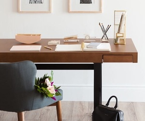 bedroom, Bureau, and chic image