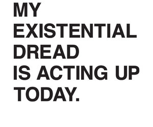 dread, existentialism, and mood image