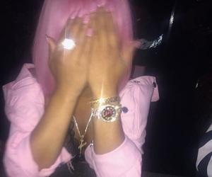 diamonds, girly, and hair image