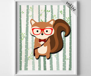 animal, nursery, and wall decor image