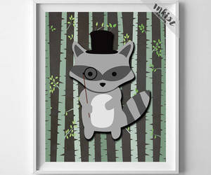 animal, etsy, and wall art image