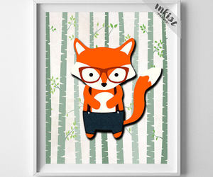 animal, home decor, and wall art image