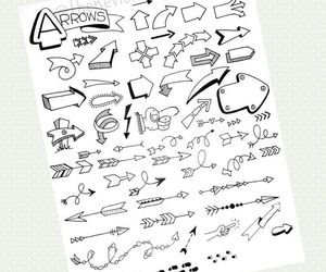 arrows, study, and ideas image