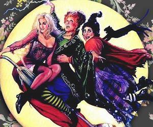 Halloween, hocus pocus, and wallpaper image