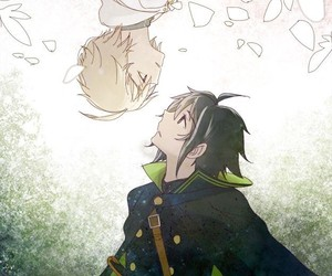 owari no seraph, anime, and mikaela hyakuya image