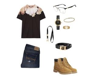 Givenchy, gucci, and timberland image