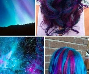 color, hair, and cabello image