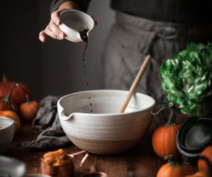 baking, pottery, and woman image