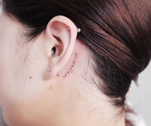 ear, ink, and inked image