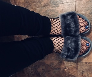 fishnets, fenty, and furry image