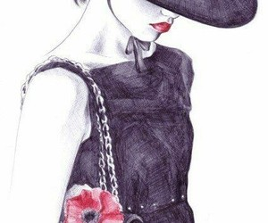 chanel, drawing, and art image