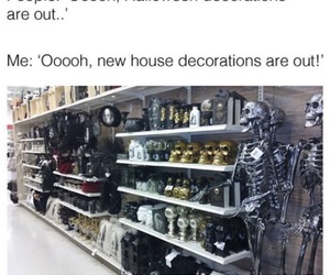 decorations, funny, and Halloween image