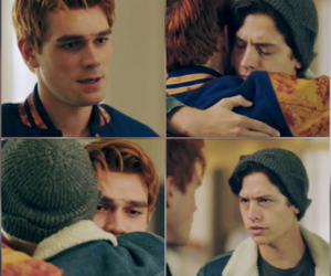 Archie, cole sprouse, and riverdale image