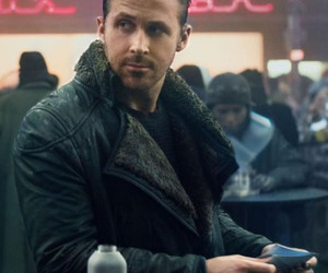 blade runner, celebrity jacket, and men fashion image