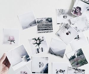 aesthetic, white, and polaroid image