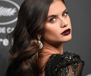 sara sampaio, hair, and cannes image