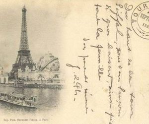 paris, vintage, and postcard image