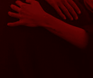 aesthetic, dark, and hands image