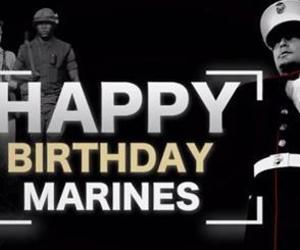 birthday and marine corps image
