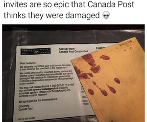 canada, canadian, and Halloween image