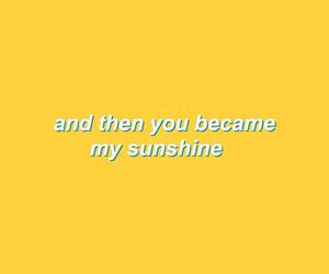 sunshine, yellow, and love image