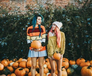 fall, grunge, and hipster image