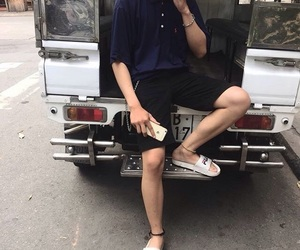 aesthetic, asian, and boy image