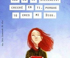 amor, dios, and silencio image