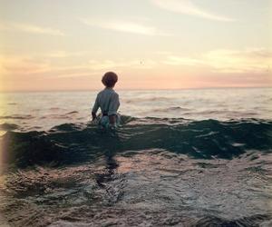 ocean, sea, and vintage image