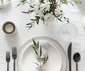 wedding, clean, and decor image