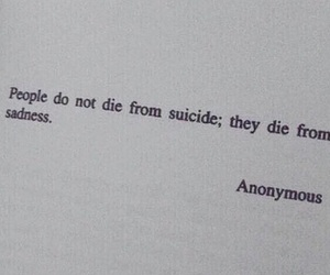 sadness, suicide, and die image
