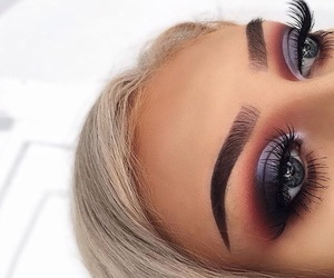 beauty, eye makeup, and makeup image