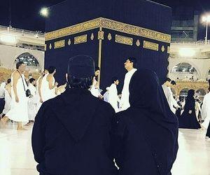 muslim, couple, and makkah image