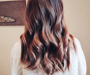 fashion, hair, and highlights image