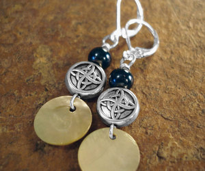 blogger, etsy, and silver jewelry image