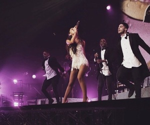 honeymoon, ariana, and grande image